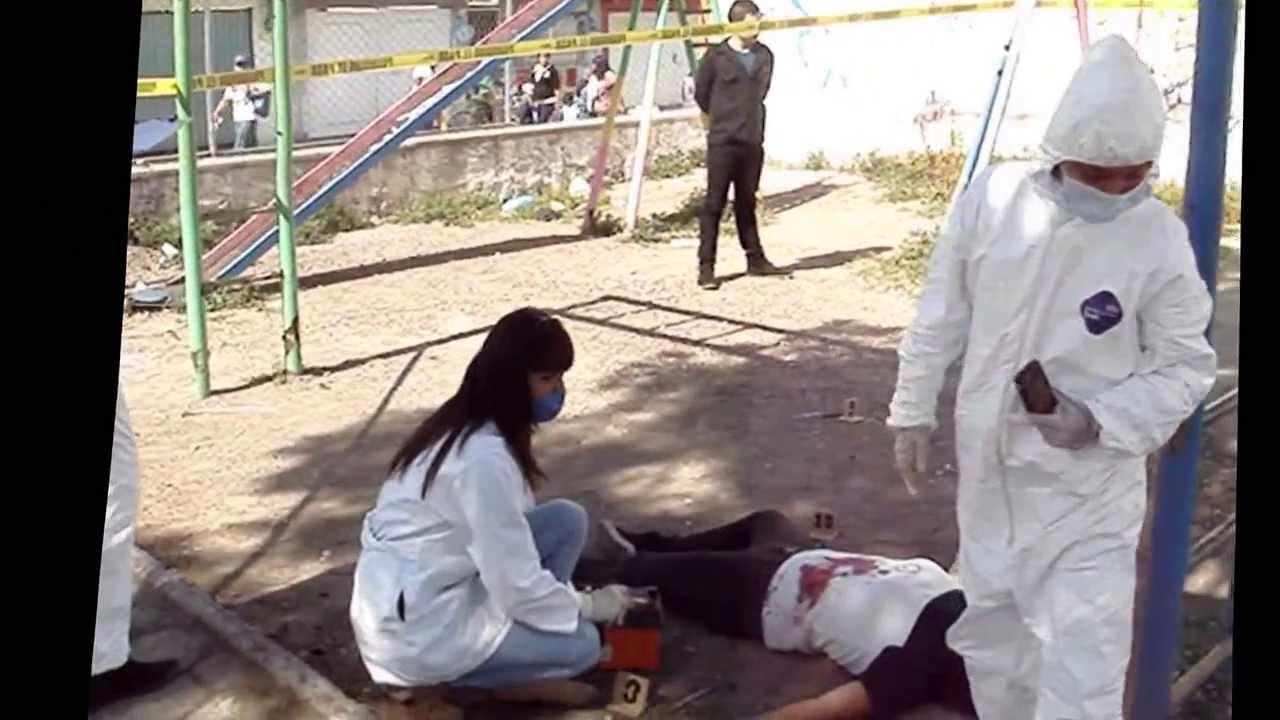 Práctica Criminalística de Campo. - YouTube
