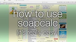 How to Use SoapCalc (it's easy!)
