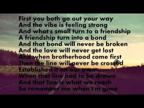 See You Again Wiz Khalifa Lyrics Musica do Velozes