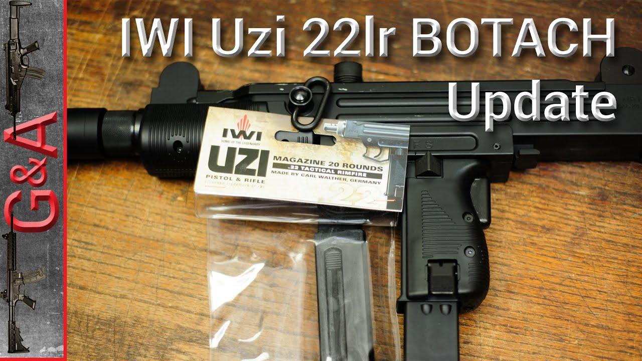 IWI Uzi 22lr Scratch Update BOTACH