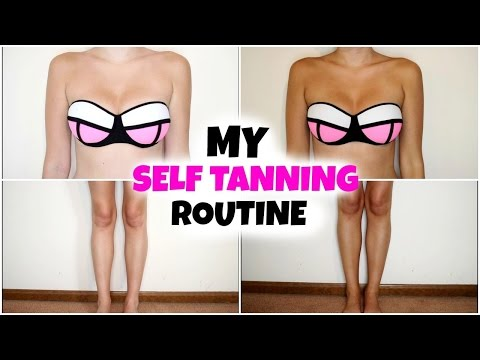 My Self Tanning Routine + Favorite Products & Helpful TIPS!| Kelly Nelson