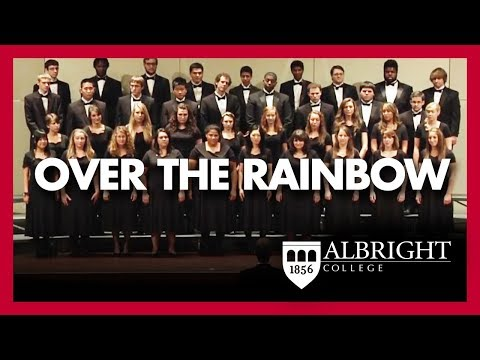 Albright College Concert Choir Sings Over the Rainbow