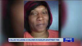 6 killed, including 4 children in Harlem apartment fire