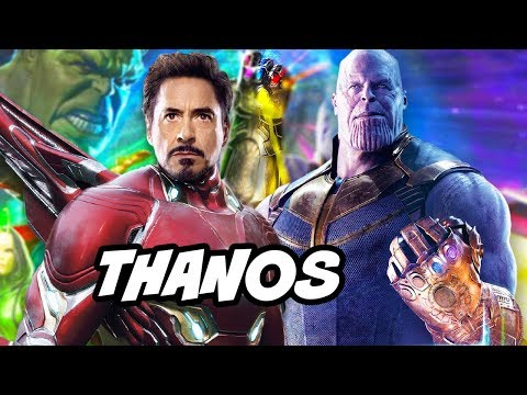 Avengers Infinity War Thanos Eternals Scene and Marvel Phase 4 Trilogy Explained