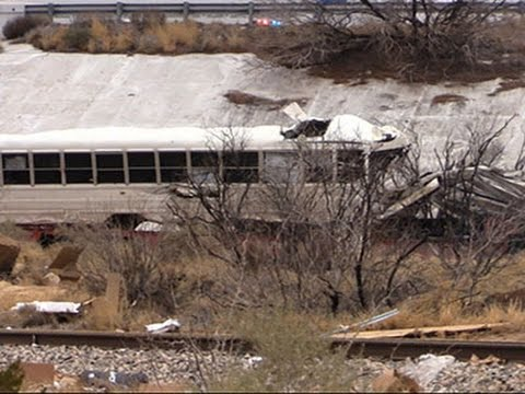 Raw: 10 Dead After TX Prison Bus Strikes Train