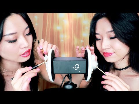 [ASMR] Twin Ear Cleaning For Intense Tingles