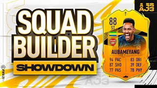 Fifa 21 Squad Builder Showdown!!! ROAD TO THE FINAL AUBAMEYANG!!!