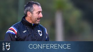 Sampdoria-Juventus: la conferenza stampa di Giampaolo