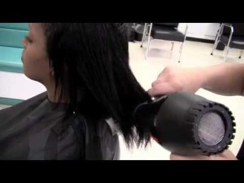 Backwards Sink Shampooing Hair Doovi