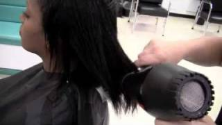 How to Shampoo, Condition and Blow Dry Black Hair Texture