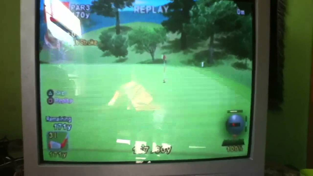 Hot Shots Golf Fore! - Hole In One! - YouTube