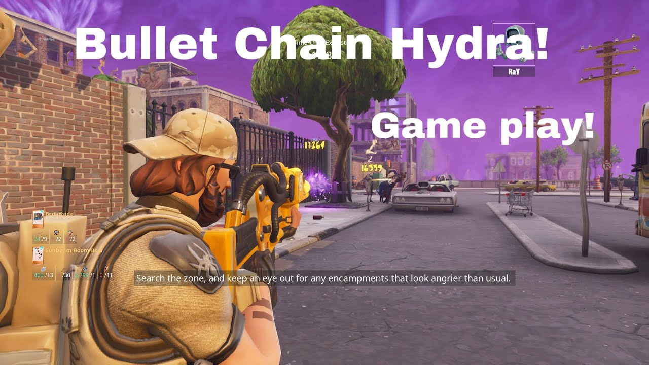 Shooting The Rarest Gun In The Game   *Bullet Chain Hydra