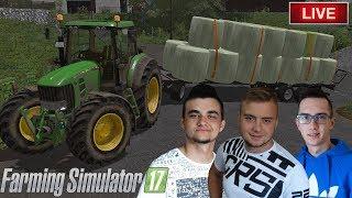 LIVE ON ???? Zagramaniczna farma przed wyjazdem do Bolka :D FS 17 z MafiaSolecTeam! - Na żywo