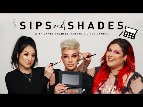 Sips & Shades w/ James Charles, Cassieemua, and Lipsticknick ft The Mini Palette thumbnail