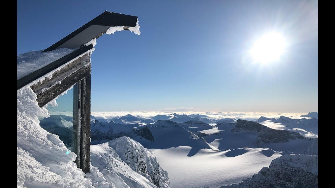 Topptur på ski til Galdhøpiggen