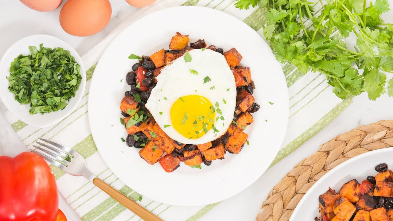 Spicy Southwestern Sweet Potato Hash Recipe | Healthy Meal Plans