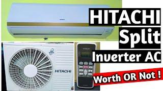 Hitachi Inverter Split AC Review 1 5 Ton 3 Star AC Remote function explained