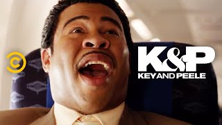 The Continental Breakfast Guy Goes on an Airplane - Key & Peele