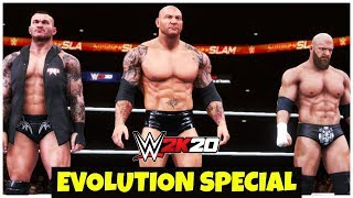 WWE 2K20 'EVOLUTION' Special Gameplay | FAIL GAME LIVE 2K20 THEME GAMEPLAY !