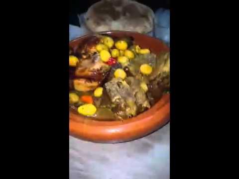 طاجين مغربي وسط الديار...