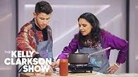 Nick Jonas And Kelly Make Chicken Tikka Masala With Maneet Chauhan