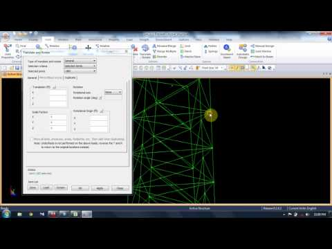SACS Modelling Tutorial 2: Blank Screen Part 1-The Jacket