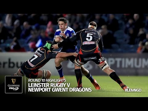 Round 10 Highlights: Leinster Rugby v Newport Gwent Dragons | 2016/17 season