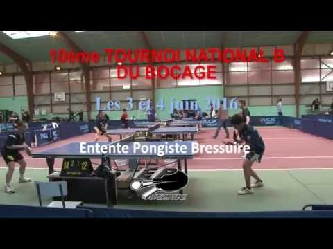 Tournoi National B de Bressuire 2016