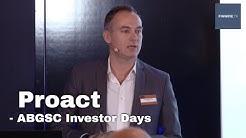 Proact - ABGSC Investor Days dec 2019