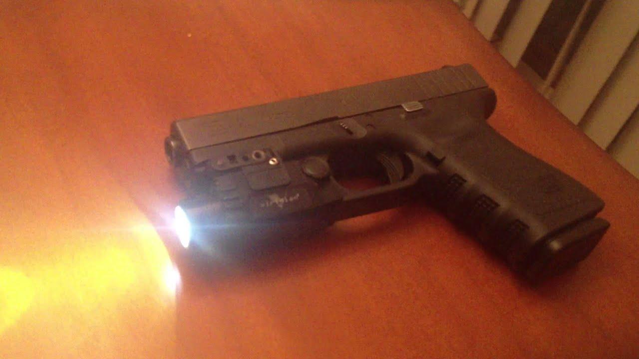 Glock 23 With Viridian X5l Gen 2 Youtube