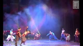 Танец орла(Государственный цирк Бурятии представляет вольтижную акробатику