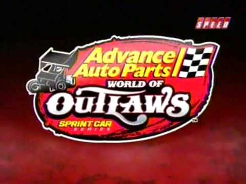 2008 World of Outlaws - Mediacom Shootout Round 1 @ Knoxville Raceway