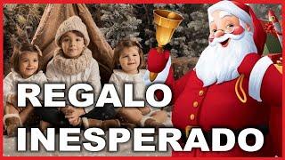 ABRIENDO REGALOS DE PAPÁ NOEL   regalo inesperado   vlog familiar