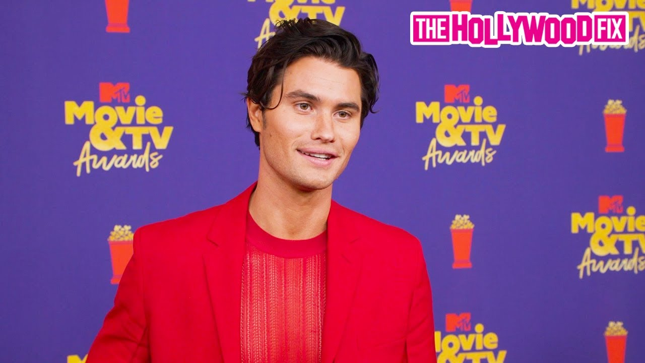 Chase Stokes Speaks On His Excitement To Be At The MTV Movie & TV Awards In Los Angeles 5.16.21