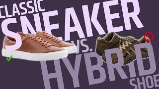 """This Over That: Classic Sneaker vs. Hybrid """"Dress"""" Casual shoe?"""