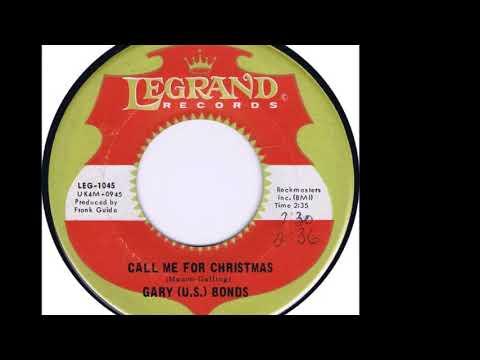 Gary U.S. Bonds - Call Me For Christmas 1967