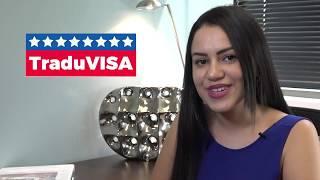 Traducciones certificadas para Inmigración USA | Traduvisa | Website Video