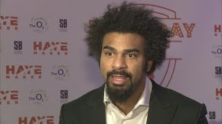 David Haye on the reasons for his heavyweight comeback