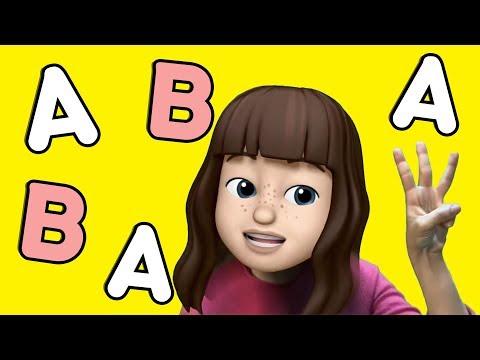 Alfabe Tekerlemesi - Eğlenceli Dans Şarkısı