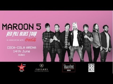 Maroon 5 Red Pill Blues Tour   Live Concert 2019