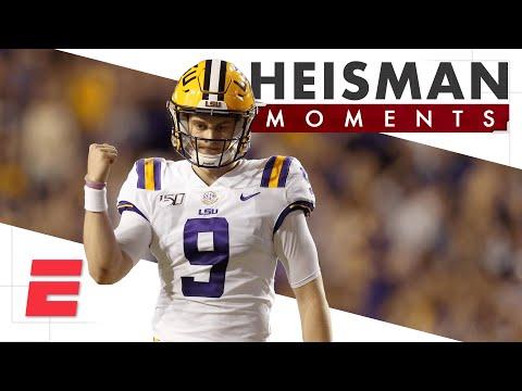 Joe Burrow's Heisman Moment turned him into a Louisiana legend | ESPN College Football