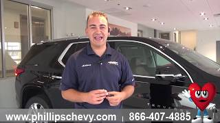 Phillips Chevrolet - 2018 Chevy Traverse –Remote Start - Chicago New Car Dealership