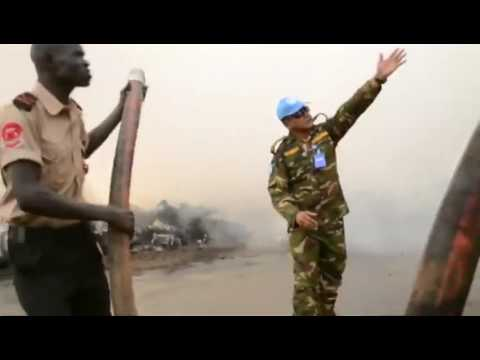 South Sudan plane crashes at Wau airport