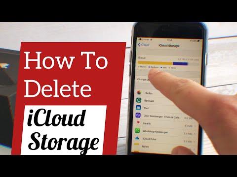 How To Delete ICloud Storage   Free Up ICloud Space On IPhone