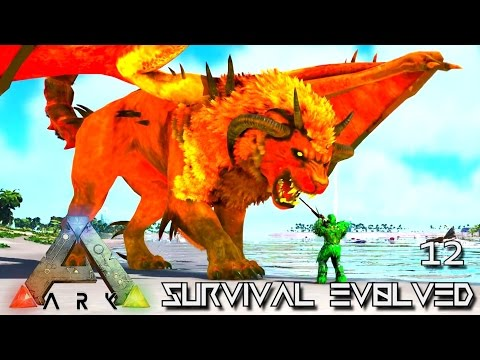 ARK: SURVIVAL EVOLVED - DOMINUS MANTICORE & EVO FROST WYVERN