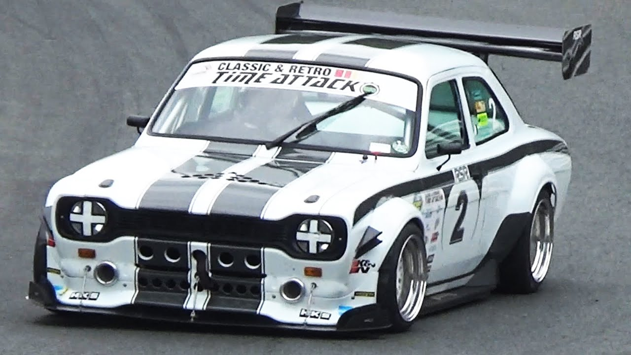 Ford Escort MK1 RSR-8 Time Attack 2015 Round 4 - Oulton Park - YouTube