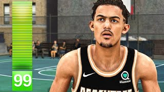 The POWER of a 99 3 POINTER in NBA 2K20...