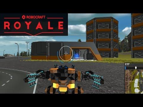 Robocraft Royale - PUBG + Robocraft? First Impressions Gameplay!