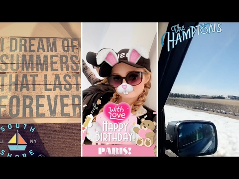 Paris Hilton | Snapchat Videos | February 18th 2017 thumbnail