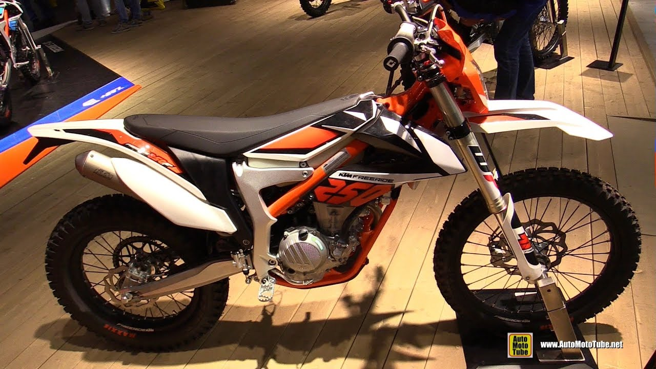 2018 ktm freeride 250 f walkaround 2017 eicma milan. Black Bedroom Furniture Sets. Home Design Ideas